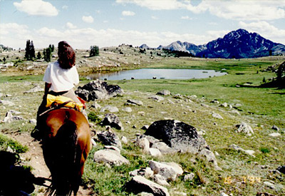 Early Winters horseback riding